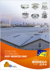 EXTRACTION SYSTEMS WITH ROOF-MOUNTED FANS